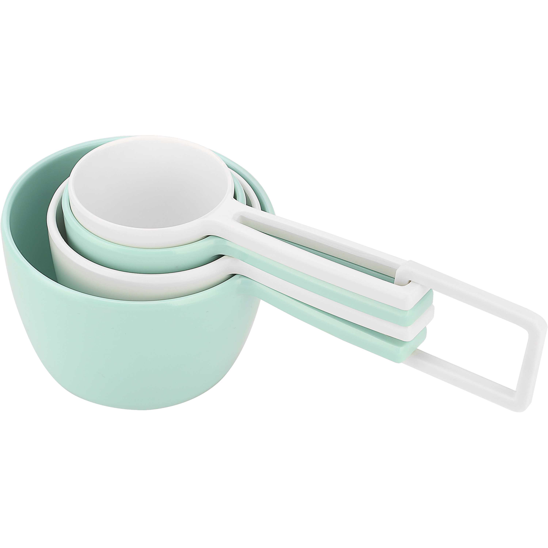 MeeMe Measuring Cups, Eggshell White, 4-piece set
