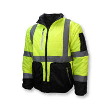 Radians SJ510 Quilted Reversible Jacket with Zip-Off Sleeves