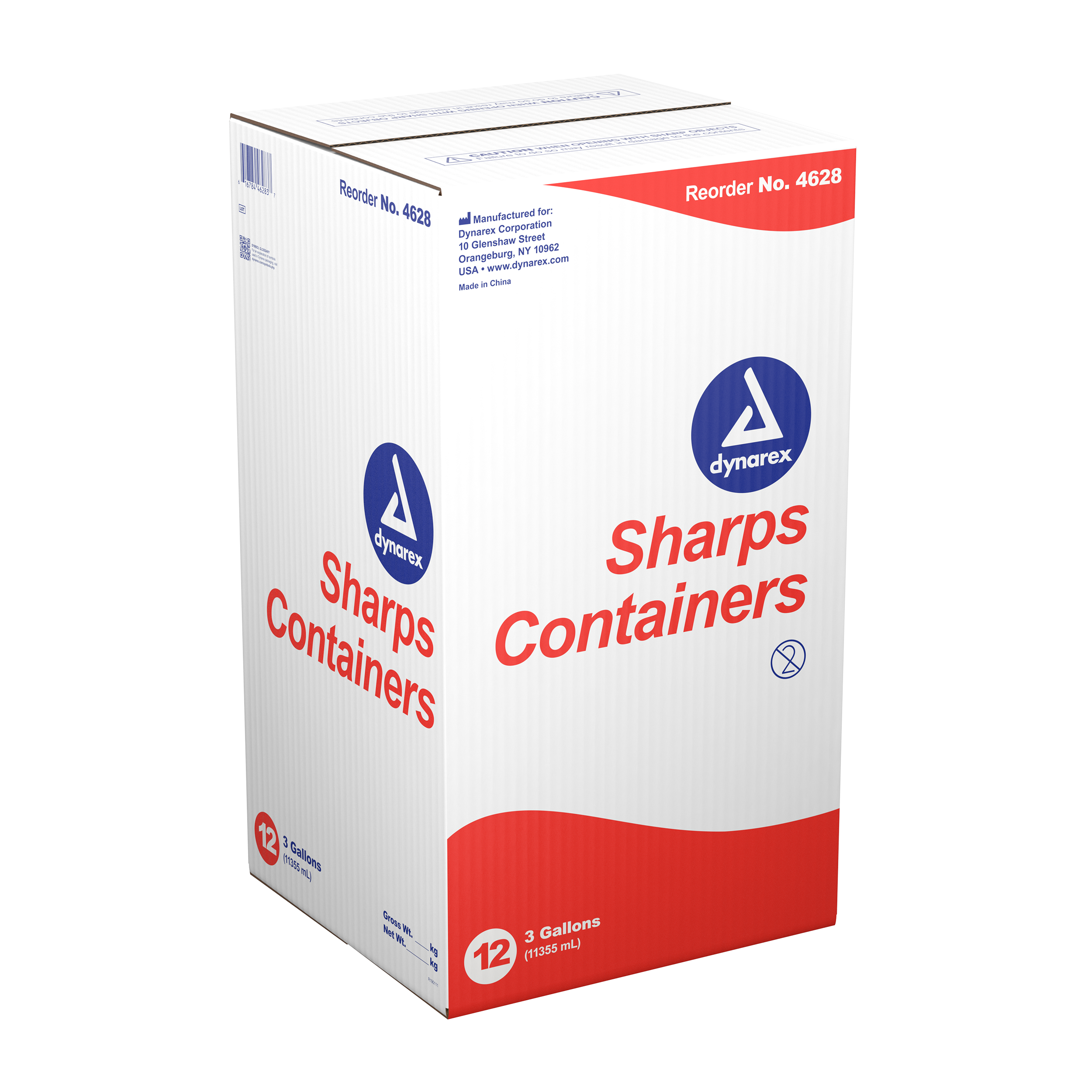 Sharps Containers - 3gal. - 12/Cs