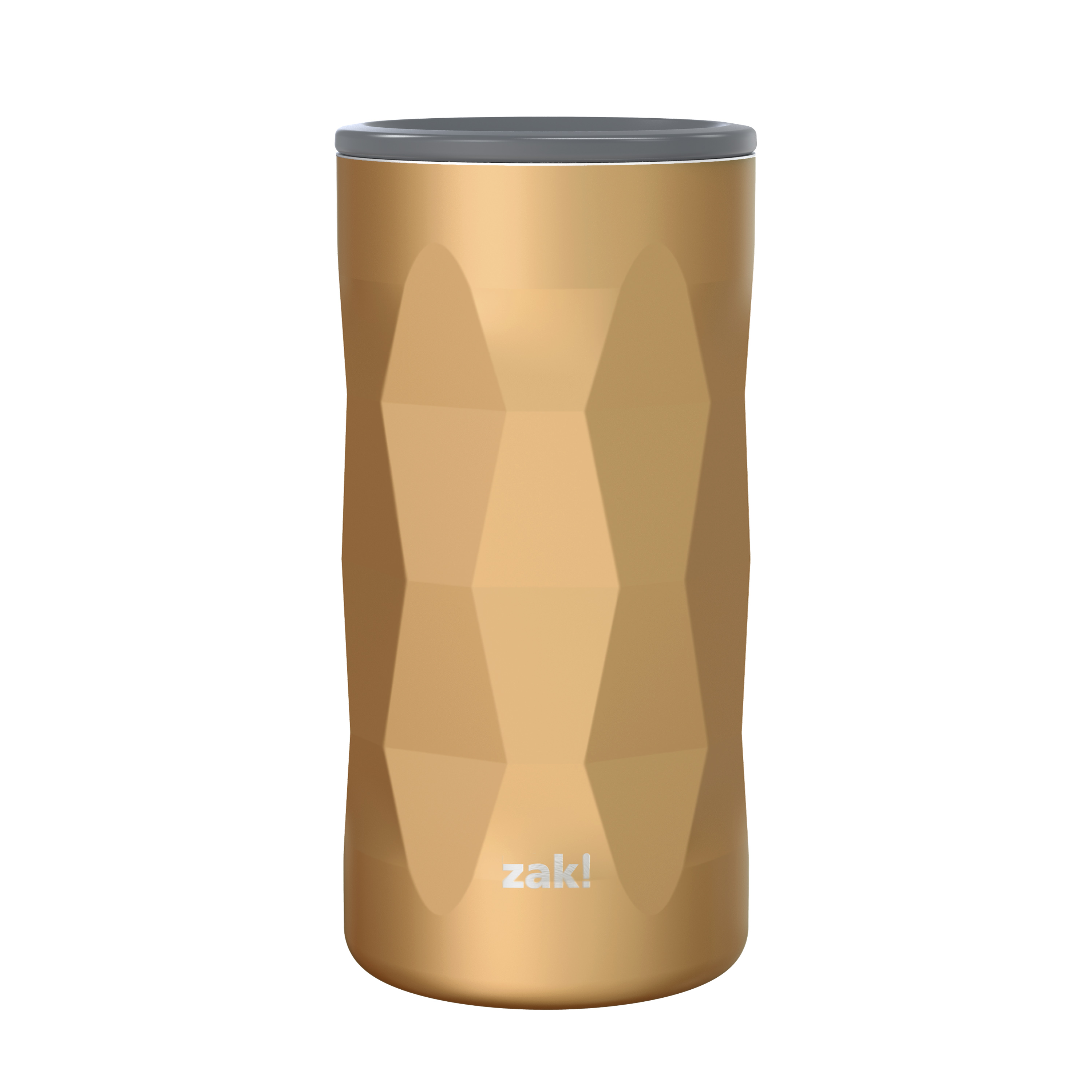 Fractal 12 ounce Vacuum Insulated Stainless Steel Tumbler, Copper slideshow image 1