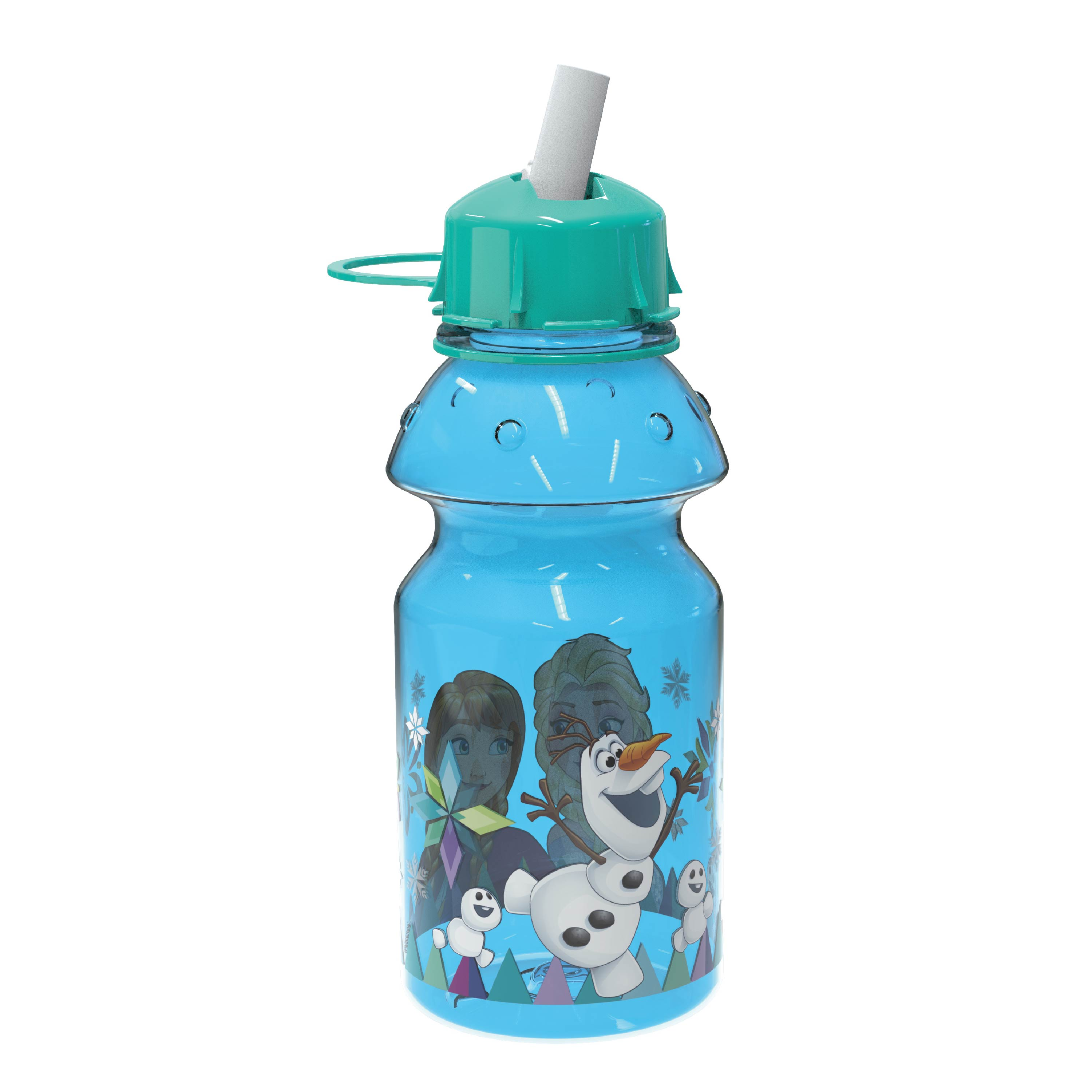 Disney Frozen 14 ounce Water Bottle, Anna, Elsa and Olaf slideshow image 4