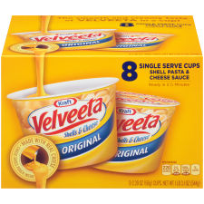 Kraft Velveeta Original Shells & Cheese 8 - 2.39 oz Boxes