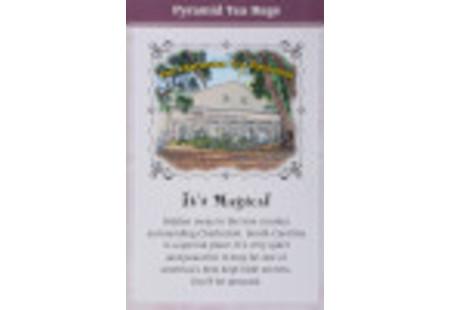 Back of Charleston Tea Charleston Breakfast Tea box