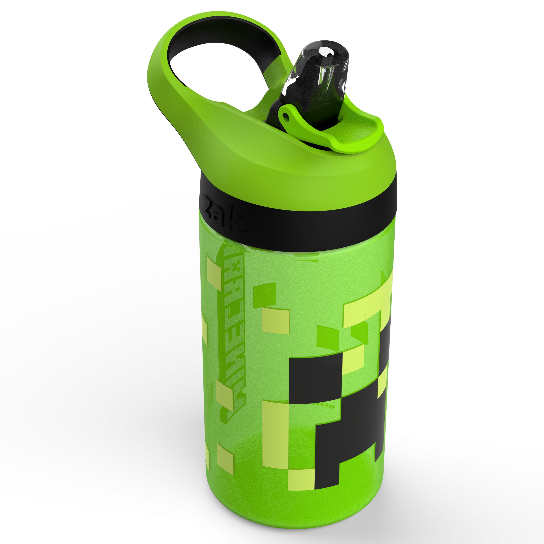 Minecraft 16 ounce Water Bottle, Creeper & Pig, 2-piece set slideshow image 3