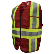 Radwear USA CSV22 Custom Type O Class 1 Safety Vest