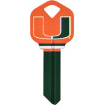 NCAA University of Miami Key Blank