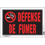 "French No Smoking Sign, 8"" x 12"""