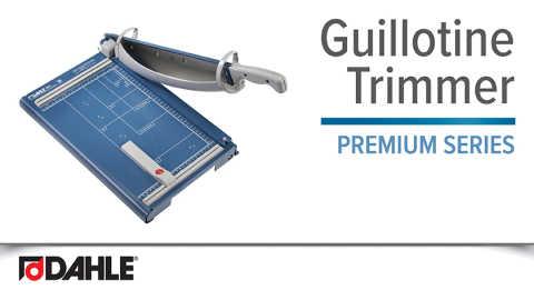 Dahle Premium Guillotine Video