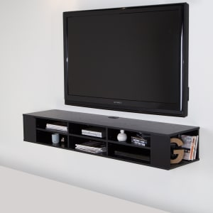 "City Life - 66"" Wide Wall Mounted Console"