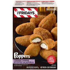 TGI Friday's Poppers Cream Cheese Stuffed Jalapenos 32 oz Box