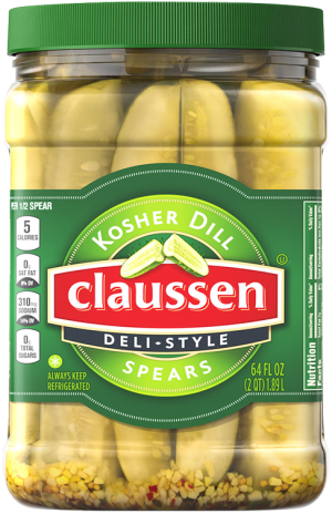 Kosher Dill Pickle Spears