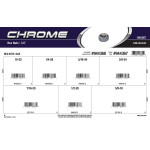 Chrome Hex Nuts Assortment (SAE)