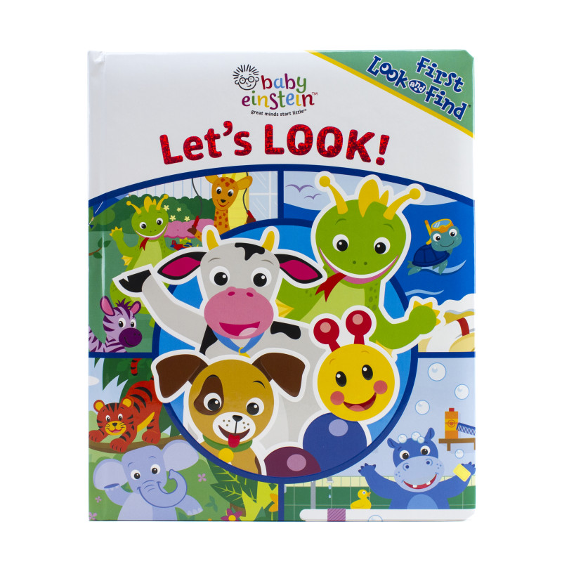 First Look and Find Book: Let's Look!