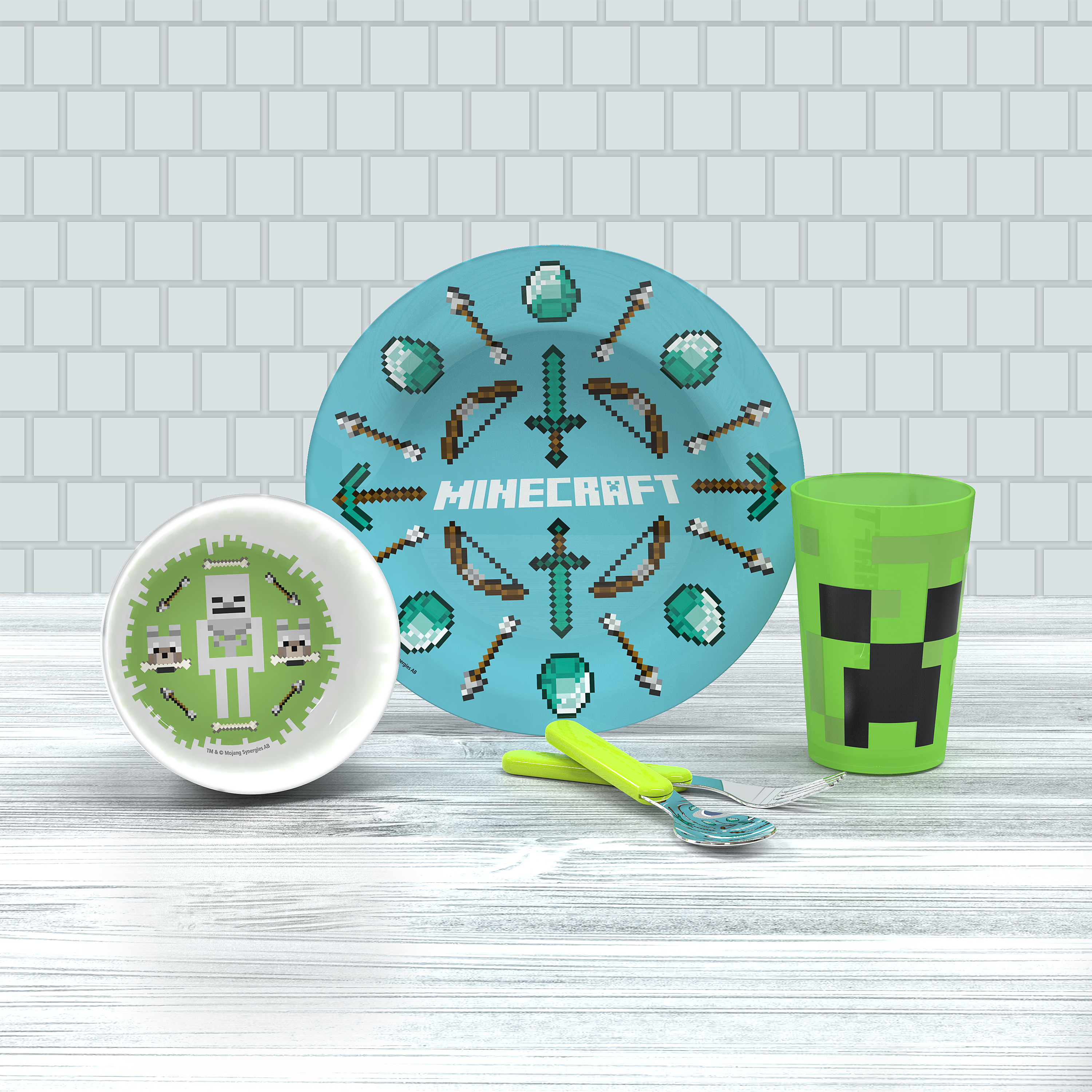 Minecraft , Creeper, Weapons and Tools, 5-piece set slideshow image 10