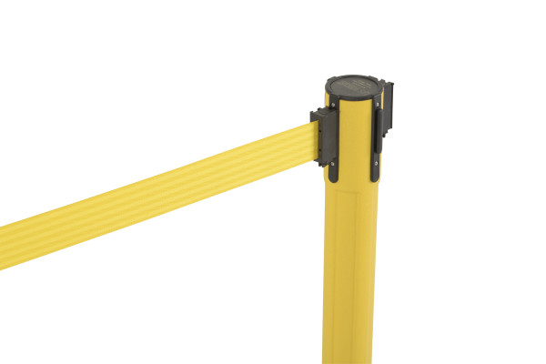 Sentry Stanchion - Yellow with Yellow belt 2