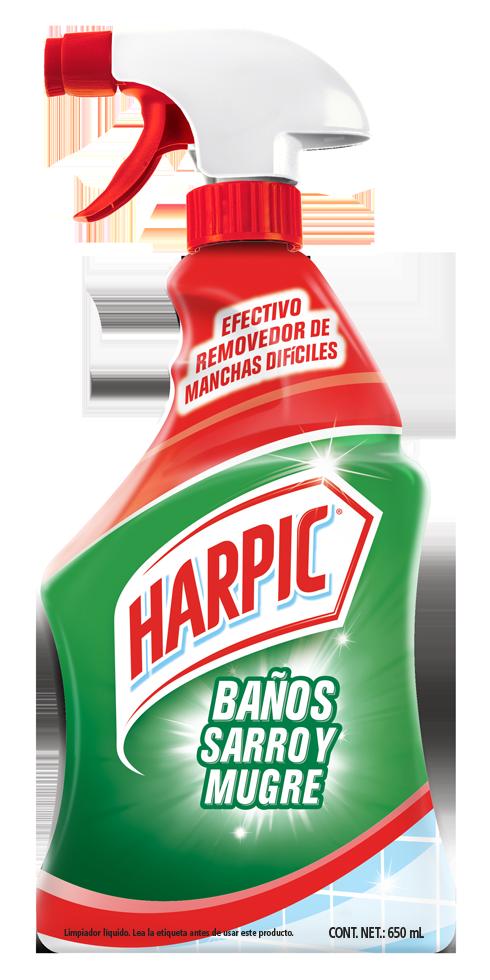 Harpic® BAÑOS SARRO Y MUGRE Trigger, 650ml