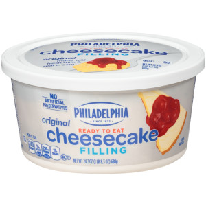 PHILADELPHIA Cheesecake Filling, 24.3 oz. (Pack of 6) image