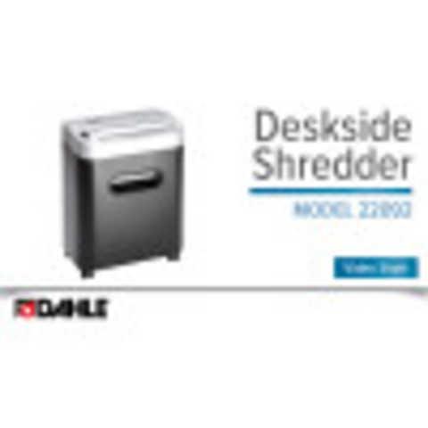 Dahle PaperSAFE® 22092 Shredder Video