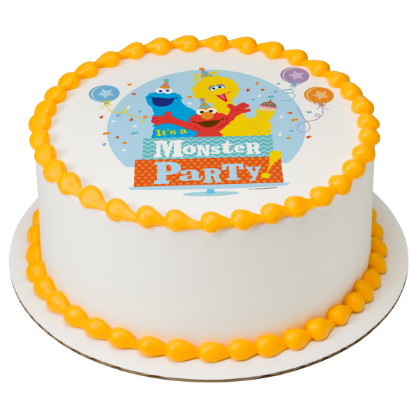 Sesame Street® Monster Party! PhotoCake® Edible Image®
