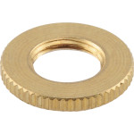 "Brass Locknut (1/8 IPS x 3/4"")"