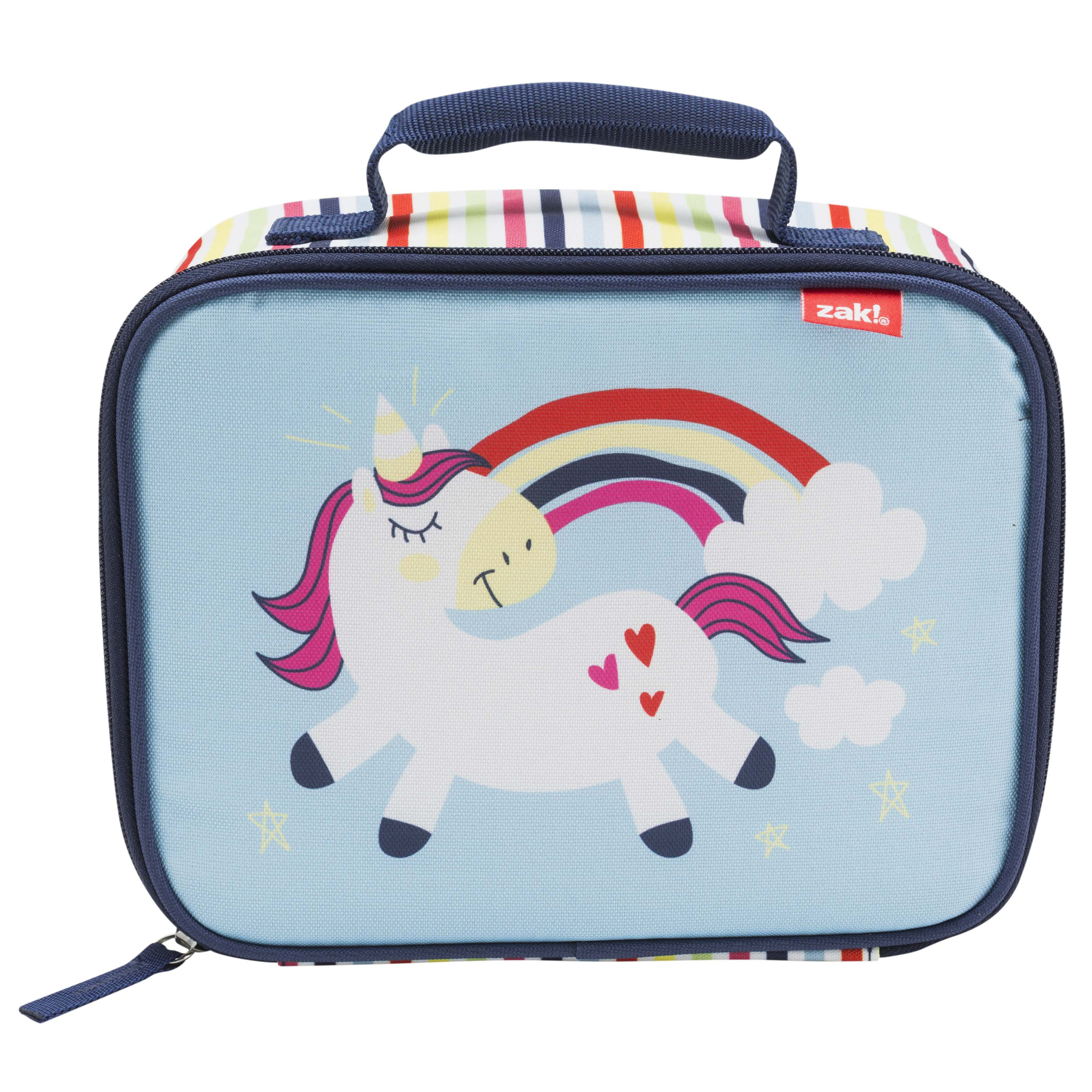 Happy Things Insulated Reusable Lunch Bag, Unicorns slideshow image 2