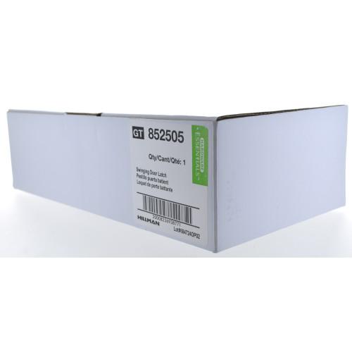 Hardware Essentials Black Swinging Door Latches - For 3/4