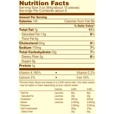 Ore-Ida Sweet Potato Crinkle Fries 19 oz Bag