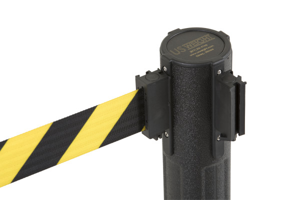 Sentry Stanchion - Black with CYB belt 9