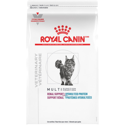 Multifunction Renal Support + Hydrolyzed Protein Dry Cat Food (Packaging May Vary)