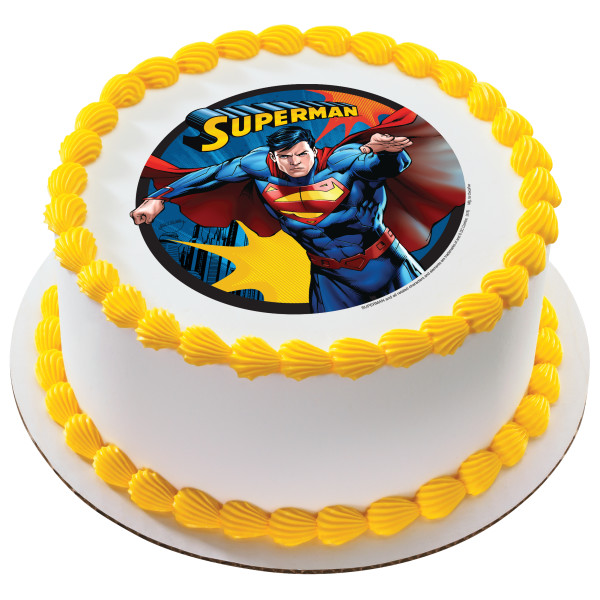 Superman™ Up, Up and Away PhotoCake® Edible Image®