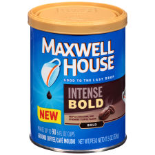 Maxwell House Intense Bold Ground Coffee 11.5 oz Canister