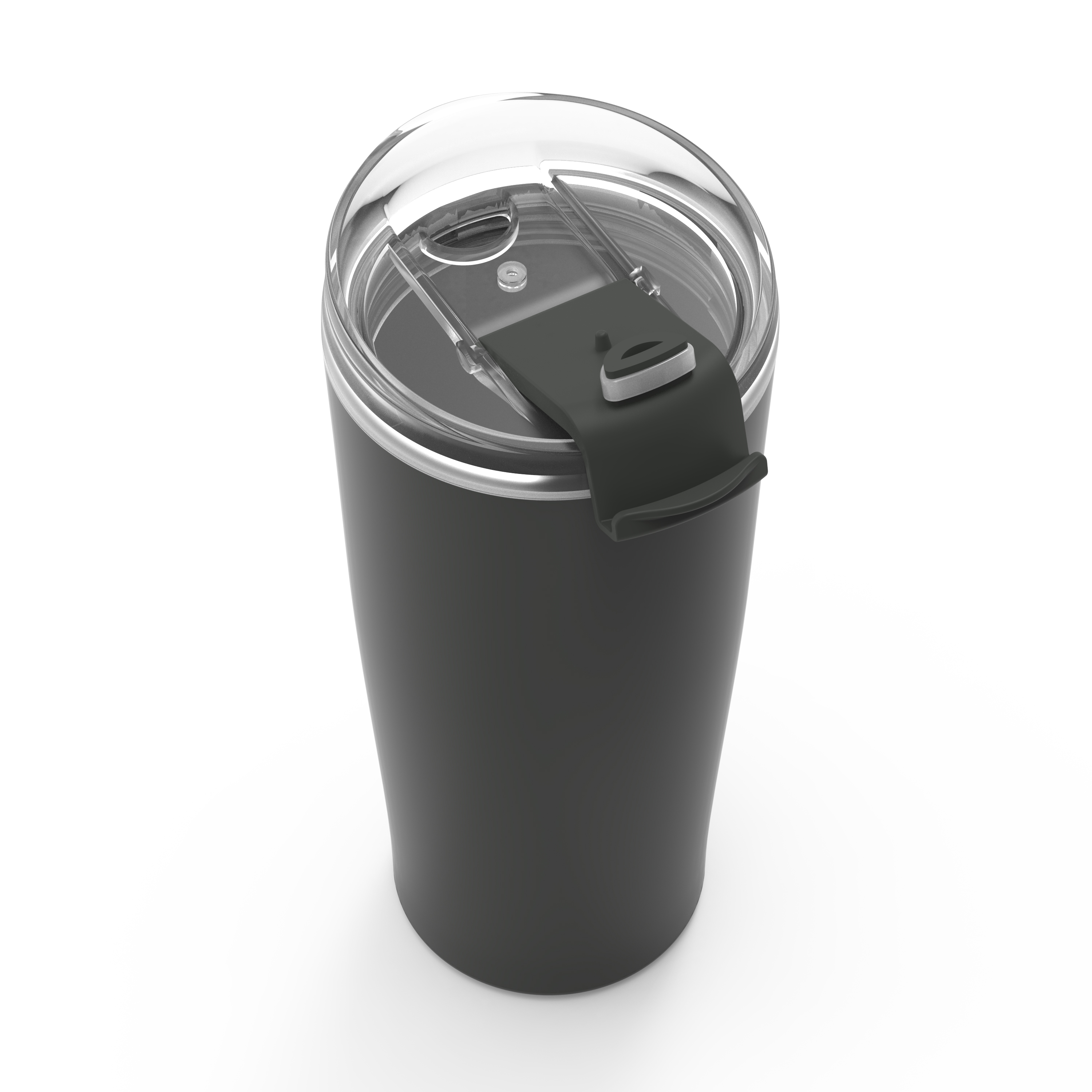 Aberdeen 20 ounce Vacuum Insulated Stainless Steel Tumbler, Charcoal slideshow image 4