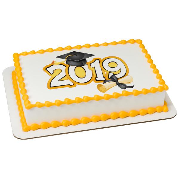 Traditional Grad 2019 PhotoCake® Edible Image®