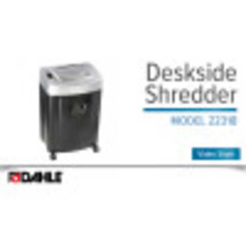 Dahle PaperSAFE® 22318 Shredder Video