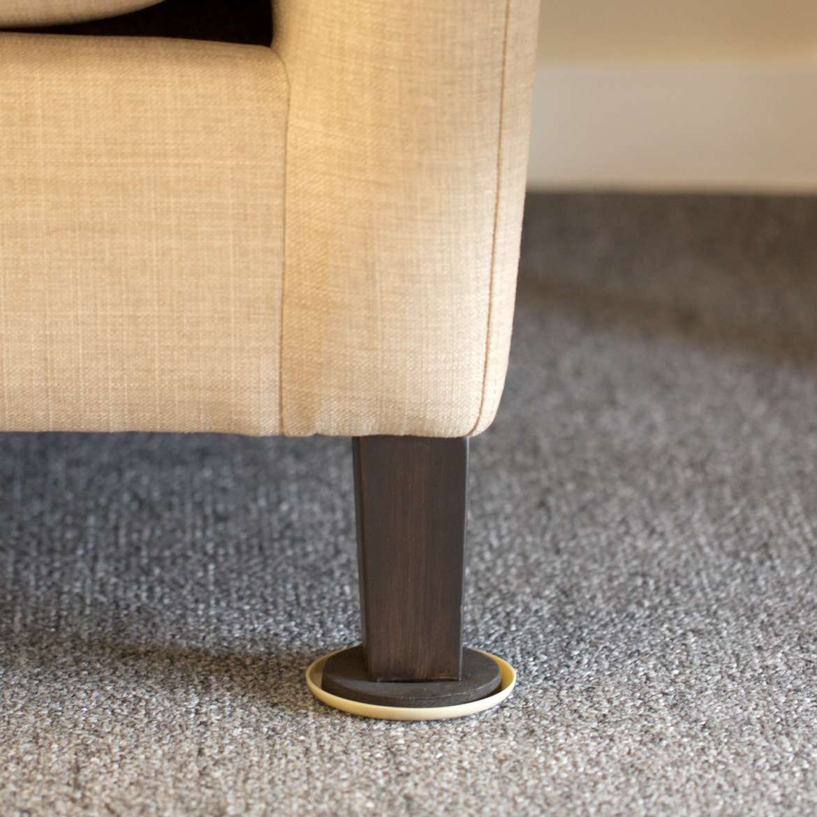 Plastic Carpet Furniture Sliders