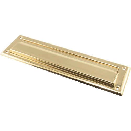 Hardware Essentials Brass Mail Slot 2x11in