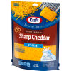 Kraft 2% Milk Sharp Cheddar Shredded Cheese 7 oz Pouch