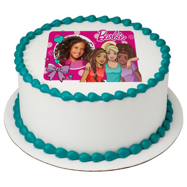 Barbie™ Fashionistas PhotoCake® Edible Image® Frame
