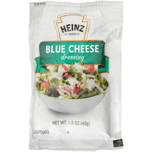 HEINZ Single Serve Blue Cheese Salad Dressing, 1.5 oz. Packets (Pack of 60) image