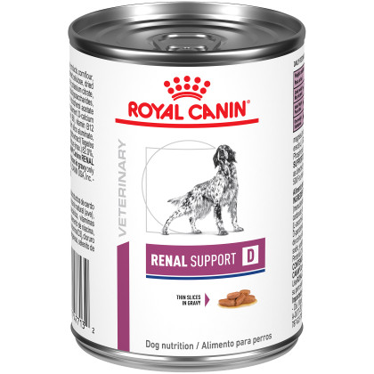 Renal Support D Thin Slices in Gravy Canned Dog Food (Packaging May Vary)