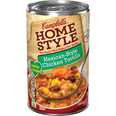 Mexican-Style Chicken Tortilla Soup