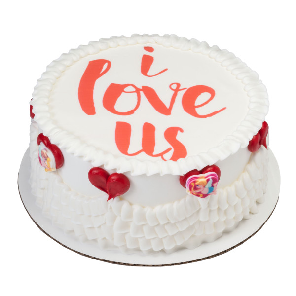 I Love Us PhotoCake® Edible Image®