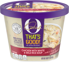 O That's Good! Chicken With White & Wild Rice Soup 16 oz Bowl