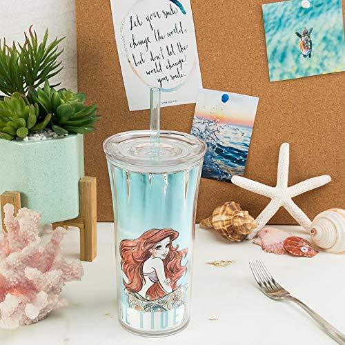 Disney 20 ounce Insulated Tumbler, Little Mermaid slideshow image 8