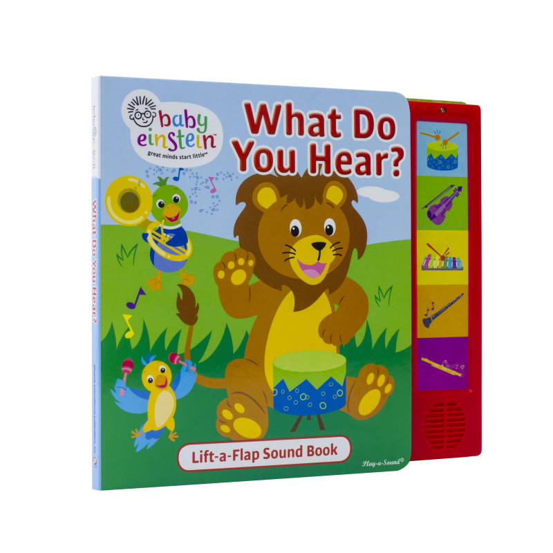 Little Lift and Listen 5-Button Book: What Do You Hear?