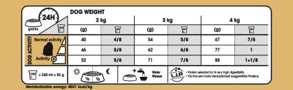 Maltese feeding guide