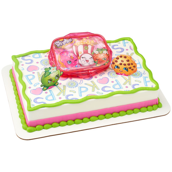 Shopkins™ Time To Shop PhotoCake® Edible Image® DecoSet® Background