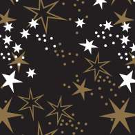 Swatch for Printed Duck Tape® Brand Duct Tape - Starry Galaxy 1.88 in. x 10 yd.