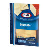 Kraft Muenster Natural Cheese Slices 12 slices - 7 oz Wrapper