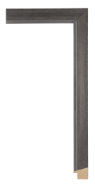 Domus Dark Silver 1 1/8